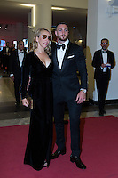 Aaron Taylor-Johnson &amp; Sam Taylor-Johnson at the premiere of Nocturnal Animals at the 2016 Venice Film Festival.<br /> September 2, 2016 Venice, Italy<br /> Picture: Kristina Afanasyeva / Featureflash