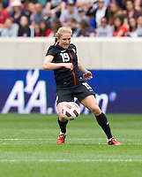 Rachel Buehler. The USWNT defeated Mexico, 1-0, during the game at Red Bull Arena in Harrison, NJ.