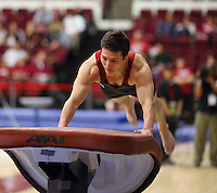 Stanford, CA; Sunday February 17, 2013: Men's Gymnastics, Stanford vs California.