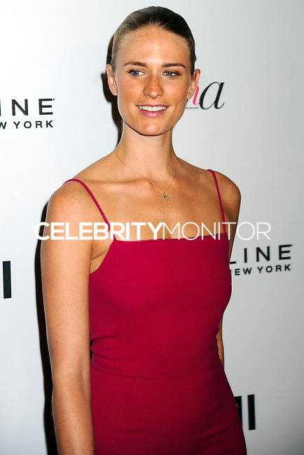 NEW YORK CITY, NY, USA - SEPTEMBER 05: Julie Henderson arrives at the 2nd Annual Fashion Media Awards held at the Park Hyatt on September 5, 2014 in New York City, New York, United States. (Photo by Celebrity Monitor)