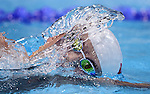 LONDON, ENGLAND - JULY 28:  Yun Hao of China swims in the Men's 400M Freestyle Final during Day 2 of the Swimming Finals as part of the London 2012 Olympic Games on July 28, 2012 at the Aquatics Center in London, England. (Photo by Donald Miralle)