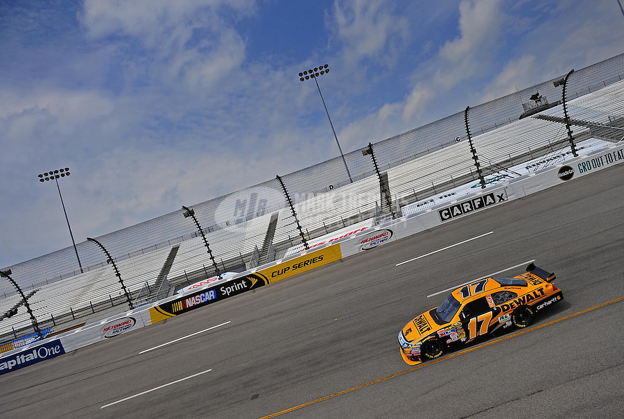 May 1, 2009; Richmond, VA, USA; NASCAR Sprint Cup Series driver Matt Kenseth during practice for the Russ Friedman 400 at the Richmond International Raceway. Mandatory Credit: Mark J. Rebilas-