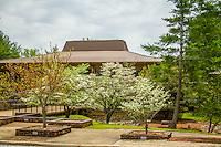 The visitor center at Blanchard Springs Caverns near Mountain View Arkansas.