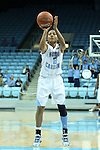 11 November 2012: North Carolina's Latifah Coleman. The University of North Carolina Tar Heels played the Duquesne University Dukes at Carmichael Arena in Chapel Hill, North Carolina in an NCAA Division I Women's Basketball game, and a quarterfinal in the Preseason WNIT. UNC won the game 62-58