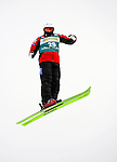 16 January 2009: Olivier Rochon from Canada performs aerial acrobatics during the FIS Freestyle World Cup warm-ups at the Olympic Ski Jumping Facility in Lake Placid, NY, USA. Mandatory Photo Credit: Ed Wolfstein Photo. Contact: Ed Wolfstein, Burlington, Vermont, USA. Telephone 802-864-8334. e-mail: ed@wolfstein.net