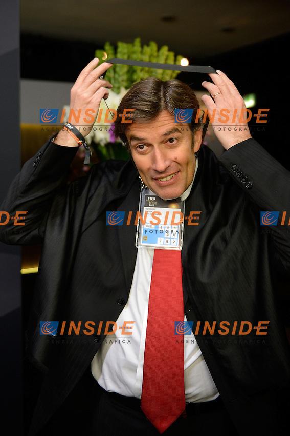 Francois Moriniere Direttore l'Equipe.Zurigo 7/1/2013 .Cerimonia di Premiazione pallone d'oro 2012.Foto Andreas Meier/ freshfocus / Insidefoto.Italy ONLY