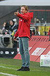 30.11.2019, RheinEnergieStadion, Koeln, GER, 1. FBL, 1.FC Koeln vs. FC Augsburg,<br />  <br /> DFL regulations prohibit any use of photographs as image sequences and/or quasi-video<br /> <br /> im Bild / picture shows: <br /> Markus Gisdol Trainer, Headcoach (1.FC Koeln), regt sich heftig auf, Gestik, Mimik,   <br /> <br /> Foto © nordphoto / Meuter