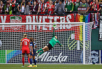 Portland, OR - Saturday July 09, 2016: Michelle Betos during a regular season National Women's Soccer League (NWSL) match between the Portland Thorns FC and FC Kansas City at Providence Park.