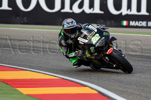 23.09.2016. Motorland Aragon, Alcaniz, Spain. MotoGP Grand Prix of Aragon, free Practice. Alex Lowes (Monster Yamaha Tech3) during the free practice sessions.