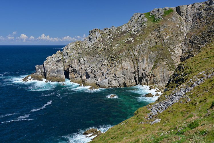 Sea Cliffs by The Battery, Lundy, Devon