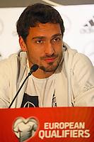 04.10.2017: Pressekonferenz Deutsche Nationalmannschaft