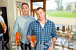 Stephen Enright and his neighbour David Pembrookfrom Castleisland who have logged 56 complaints with Irish Water, regarding water discolouration in the water which is breaking tanks and appliances, but has not got any response and the issue has existed since January this year.