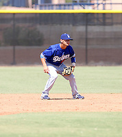 Jaime Pedroza / Los Angeles Dodgers 2008 Instructional League..Photo by:  Bill Mitchell/Four Seam Images