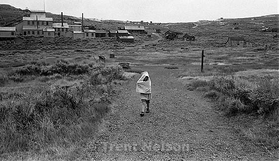 Noah Nelson at Bodie State Historic Park, ghost town<br />