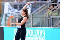Kara Winger of United States competes in the women's javelin throw at the IAAF Diamond League Golden Gala <br /> Roma 06-06-2019 Stadio Olimpico, <br /> Meeting Atletica Leggera <br /> Photo Andrea Staccioli / Insidefoto