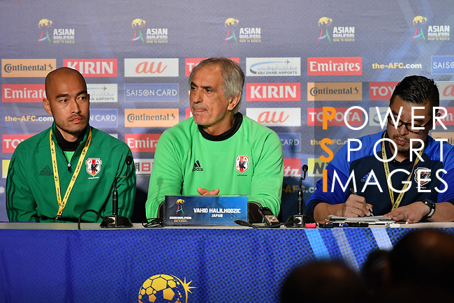 Japan's Press Conference prior to the 2018 FIFA World Cup Russia Asian Qualifiers Final Qualification Round Group B match between Australia and Japan at Etihad Stadium on 10 October 2016, in Melbourne, Australia. Photo by Thananuwat Srirasant / Lagardere Sports