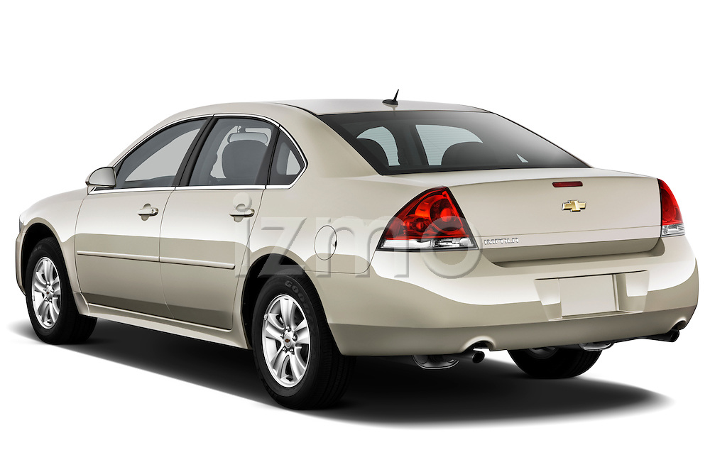 Rear three quarter view of a 2012 Chevrolet Impala LS