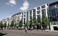 Nederland - Amsterdam - 2020.  Hudson's Bay warenhuis aan het Rokin. Foto Berlinda van Dam / Hollandse Hoogte