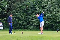 Tom Clancy (Kilrush) during the Connacht U14 Boys Amateur Open, Ballinasloe Golf Club, Ballinasloe, Galway,  Ireland. 10/07/2019<br /> Picture: Golffile | Fran Caffrey<br /> <br /> <br /> All photo usage must carry mandatory copyright credit (© Golffile | Fran Caffrey)