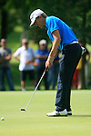 Christian Cevaer (FRA) putts on the 5th green during Day 3 of the BMW Italian Open at Royal Park I Roveri, Turin, Italy, 11th June 2011 (Photo Eoin Clarke/Golffile 2011)