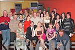ENGAGEMENT: Deborah Buckley and Shane Galvin, Camp (seated centre) celebrated their engagement with a great party in the Brogue Inn, Tralee on Friday night attended by many family and friends.   Copyright Kerry's Eye 2008