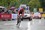 Tim Wellens (BEL) Lotto-Soudal in action during Stage 1, a 14km individual time trial around Dusseldorf, of the 104th edition of the Tour de France 2017, Dusseldorf, Germany. 1st July 2017.<br /> Picture: Eoin Clarke | Cyclefile<br /> <br /> <br /> All photos usage must carry mandatory copyright credit (&copy; Cyclefile | Eoin Clarke)