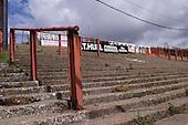 23/06/2000 Blackpool FC Bloomfield Road Ground..home Kop.....© Phill Heywood.