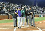 LSU downs Tulane, 5-0, in baseball action at Greer Field-Turchin Stadium.
