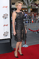 "WESTWOOD, LOS ANGELES, CA, USA - MAY 15: Charlize Theron at the Los Angeles Premiere Of Universal Pictures And MRC's ""A Million Ways To Die In The West"" held at the Regency Village Theatre on May 15, 2014 in Westwood, Los Angeles, California, United States. (Photo by Xavier Collin/Celebrity Monitor)"