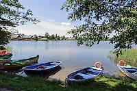 See bei Schloss Trakai, Litauen, Europa