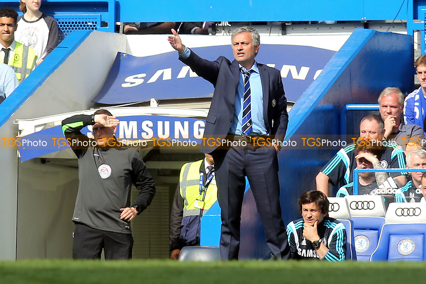 Chelsea Manager, Jose Mourinho - Chelsea vs Liverpool - Barclays Premier League Football at Stamford Bridge, London - 10/05/15 - MANDATORY CREDIT: Paul Dennis/TGSPHOTO - Self billing applies where appropriate - contact@tgsphoto.co.uk - NO UNPAID USE