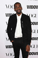 "Ashley Thomas<br /> arriving for the ""Widows"" special screening in association with Vogue at the Tate Modern, London<br /> <br /> ©Ash Knotek  D3457  31/10/2018"