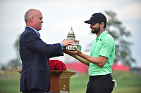 Bethesda, MD - July 2, 2017: Kyle Stanley wins the Quicken Loans Tournament in a playoff against Charles Howell III at the Quicken Loans National Tournament at TPC Potomac at Avenel Farm in Bethesda, MD.  (Photo by Phillip Peters/Media Images International)