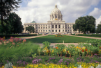 State Capitol, St. Paul, MN, State House, Minnesota, Twin Cities, Minnesota State Capitol building in the capital city of Saint Paul.