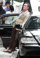 August 10, 2012  Ed Westwick,   shooting on location for  Gossip Girl in New York City.Credit:© RW/MediaPunch Inc. /NortePhoto.com*<br /> <br /> **CREDITO*OBLIGATORIO** <br /> *No*Venta*A*Terceros*<br /> *No*Sale*So*third*<br /> *** No Se Permite Hacer Archivo**