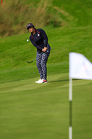 Marina Alex (USA) on the 1st during Day 3 Singles at the Solheim Cup 2019, Gleneagles Golf CLub, Auchterarder, Perthshire, Scotland. 15/09/2019.<br /> Picture Thos Caffrey / Golffile.ie<br /> <br /> All photo usage must carry mandatory copyright credit (© Golffile | Thos Caffrey)