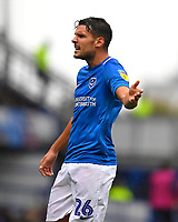 Gareth Evans of Portsmouth during Portsmouth vs Gillingham, Sky Bet EFL League 1 Football at Fratton Park on 6th October 2018
