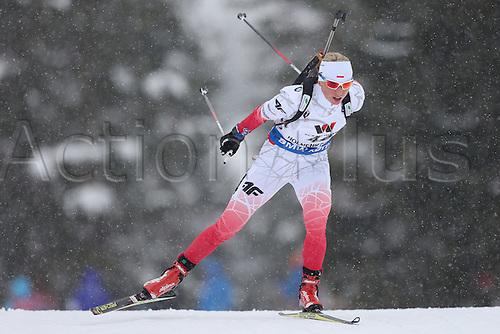 09.03.2016, Oslo, Holmenkollen,  Krystyna Guzik (POL), 15 km women individual
