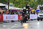 Mark Renshaw (AUS) Team Dimension Data in action during Stage 1, a 14km individual time trial around Dusseldorf, of the 104th edition of the Tour de France 2017, Dusseldorf, Germany. 1st July 2017.<br /> Picture: Eoin Clarke | Cyclefile<br /> <br /> <br /> All photos usage must carry mandatory copyright credit (&copy; Cyclefile | Eoin Clarke)
