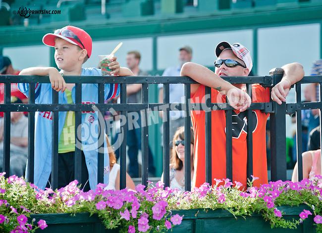 fans at Delaware Park on 8/24/2013