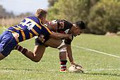 Counties Manukau B vs Bay of Plenty B rugby game played at Karaka Sports Park on Saturday September 7th 2019.<br /> Photo by Richard Spranger.