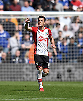 Southampton's Dusan Tadic celebrates scoring his side's first goal <br /> <br /> Photographer David Horton/CameraSport<br /> <br /> The Premier League - Southampton v Chelsea - Saturday 14th April2018 - St Mary's Stadium - Southampton<br /> <br /> World Copyright &copy; 2018 CameraSport. All rights reserved. 43 Linden Ave. Countesthorpe. Leicester. England. LE8 5PG - Tel: +44 (0) 116 277 4147 - admin@camerasport.com - www.camerasport.com