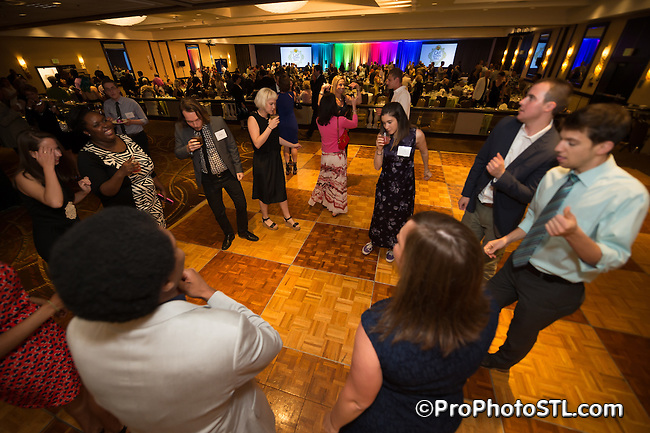 College Bound 2015 Gala event at Hilton at The Ballpark hotel in downtown St. Louis, Missouri on June 6, 2015.