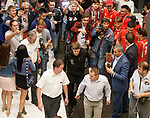 29.08.2018  Steven Gerrard arrives at the team hotel in Ufa ahead of the Rangers press conference