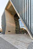 Jüdisches Museum Warschau innen und außen