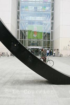 Genève, le 08.05.2008.Université de genève, uni mail..© Le Courrier / J.-P. Di Silvestro