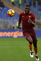 Roma&rsquo;s Antonio Ruediger in action during the Italian Serie A football match between Roma and Napoli at Rome's Olympic stadium, 4 March 2017. <br /> UPDATE IMAGES PRESS/Riccardo De Luca