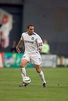 San Jose Earthquakes' Ramiro Corrales. DC United defeated the San Jose Earthquakes 2 to 1 during the MLS season opener at RFK Stadium, Washington, DC, on April 3, 2004.