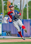 8 March 2015: Boston Red Sox infielder Sean Coyle warms up prior to a Spring Training game against the New York Mets at Tradition Field in Port St. Lucie, Florida. The Mets fell to the Red Sox 6-3 in Grapefruit League play. Mandatory Credit: Ed Wolfstein Photo *** RAW (NEF) Image File Available ***