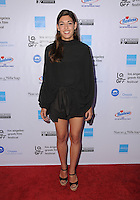 "05 June 2016 - Hollywood, California - Niki Vakali. Arrivals for the 2016 LA Greek Film Festival Premiere Of ""Worlds Apart"" held at The Egyptian Theater. Photo Credit: Birdie Thompson/AdMedia"